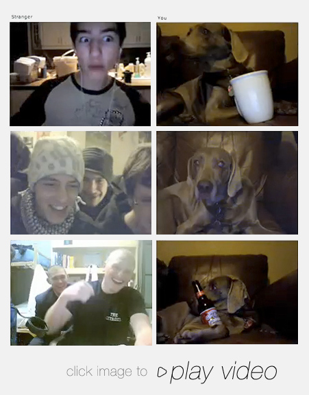 stills of chatroulette video
